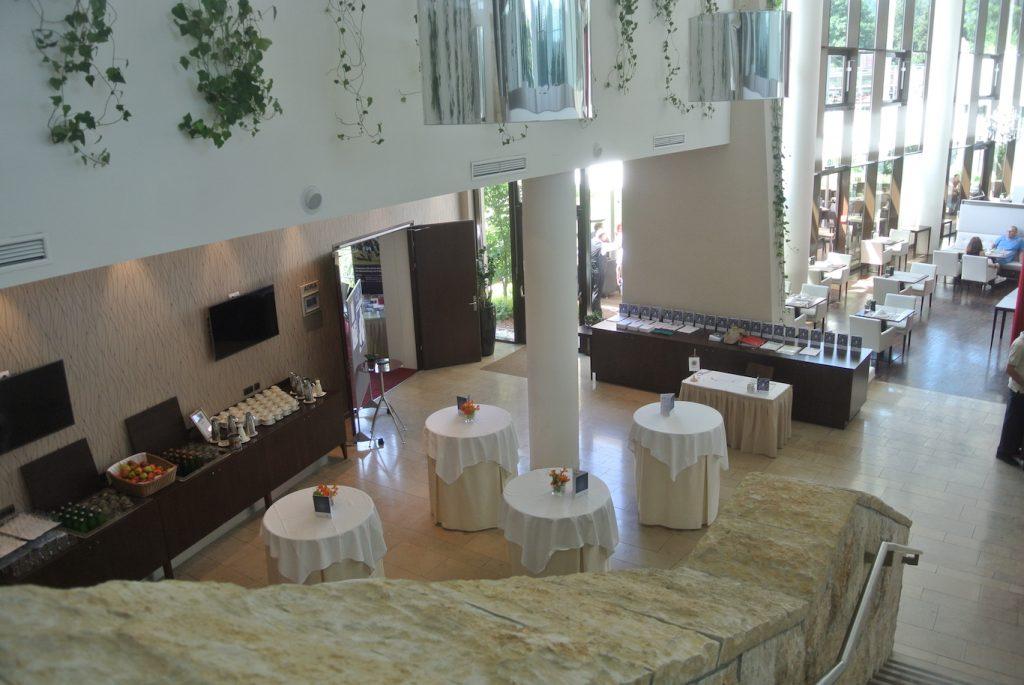 Innenansicht Seepark-Hotel
